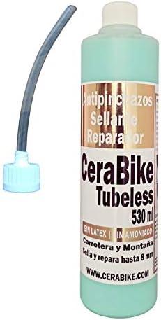 CeraBike - Sellante Antipinchazos y Jeringa Inyector