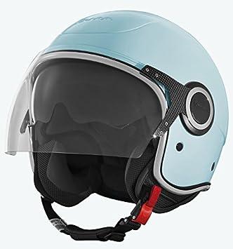 Vespa 70 606416M02AZ - Casco para moto, color azul