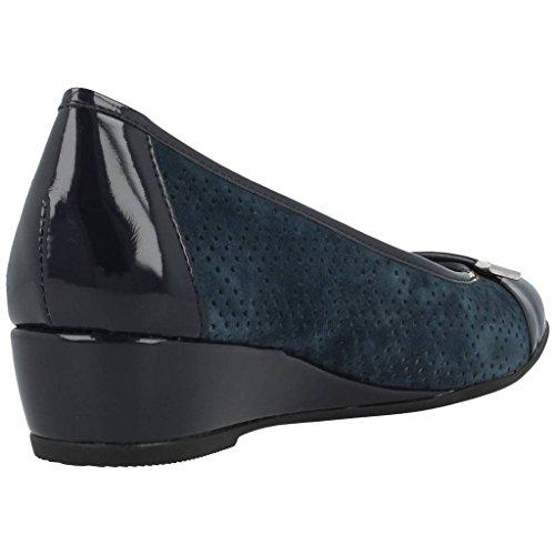 STONEFLY 106005 azul Maggie pintura zapatos zapatillas de ballet mujeres punta de la comodidad Blu