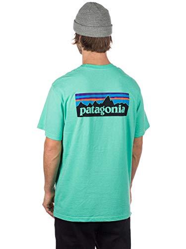 Lunghe Vjosa A Patagonia Green Uomo Logo Maniche Maglia IUSSAH