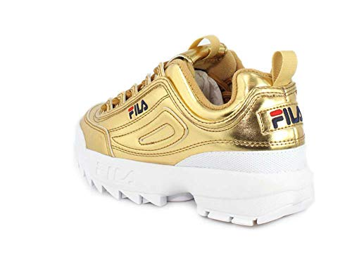 Scarpa white Ginnastica Premium Gold Ii Donna Fila Disruptor Da dHxgdFA