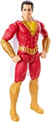 Recreate thrilling Shazam! movie scenes and explore the Super Hero's awesome powers with this realistic Shazam! action figure. Billy Batson's alter ego has state of the art facial designs and actor likeness, an iconic, detailed costume with i...