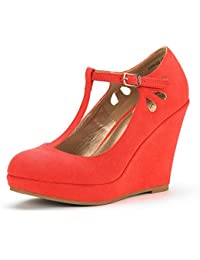 Women's ASH Wedge Heel Platform Pumps Shoes