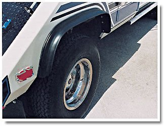 Phoenix 52-188 RUBBER FENDER with MEMORY WIRE for WRECKER, TOW TRUCK, UTILITY, TRUCK BODIES - One Pair