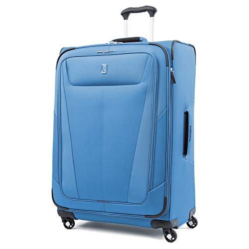 Travelpro Luggage Maxlite 5 Lightweight Expandable Suitcase , Azure Blue