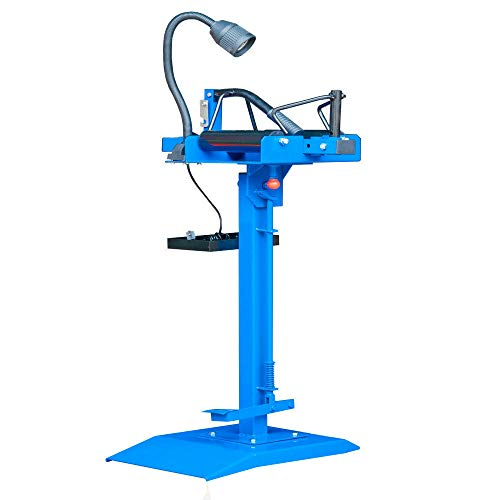 JX-Trading Manual Tire Spreader Portable Tire Changer with Stand Adjustable