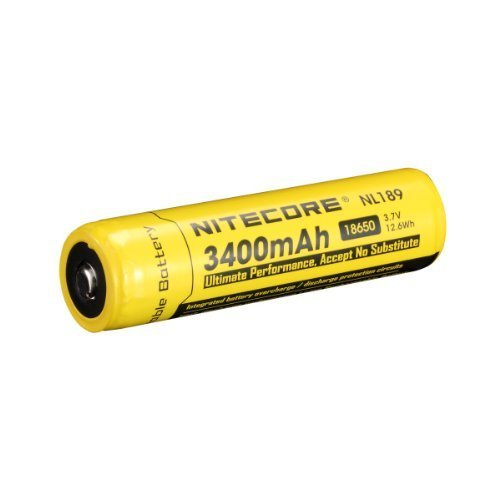 NITECORE NL1834 3400mAh High Capacity 18650 Rechargeable Battery with Protective Circuit