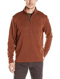 Wrangler Mens Sweater Fleece Quarter-Zip