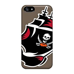 Iphone 5/5s YsO11423BAdy Support Personal Customs High-definition Tampa Bay Buccaneers Pattern Scratch Resistant Hard Phone Cases -MansourMurray