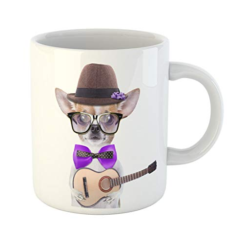Semtomn Funny Coffee Mug Smart Beautiful Dog Chihuahua