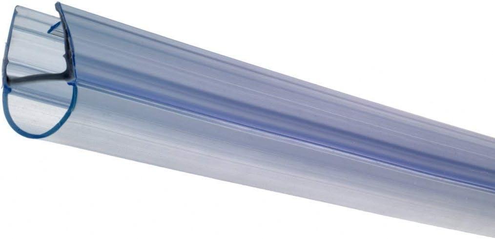 Croydex Joint Rigide pour /écran de Douche pour Panneaux de 4//5//6/mm d/épaisseur 100/cm