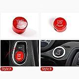 FidgetFidget Push Button Engine Start Stop Trim for BMW 5 6 7 Series F01 F02 F10 F11 F12 F13