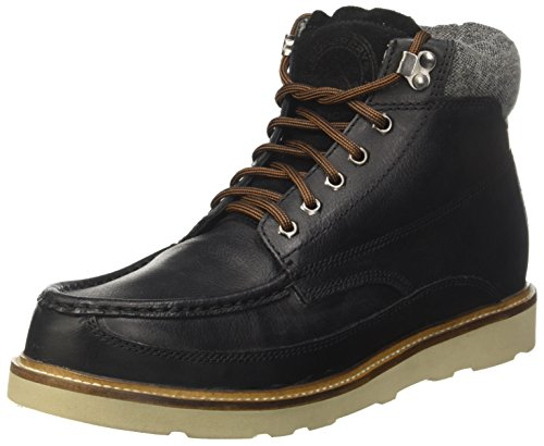 Superdry Herren Everest Mountain Chukka Boots Schwarz (Nero)
