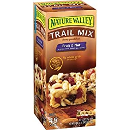 Nature Valley Fruit & Nut Chewy Trail Mix Granola Bars (48 ct.)