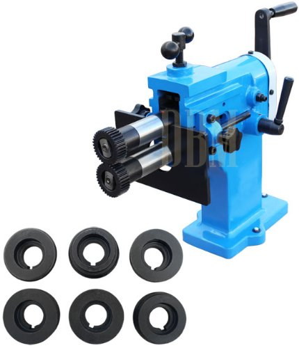 Bead Bender Bending Machine 8'' Deep Depth Throat 18 Gauge 4 Roller Roll Die by Generic