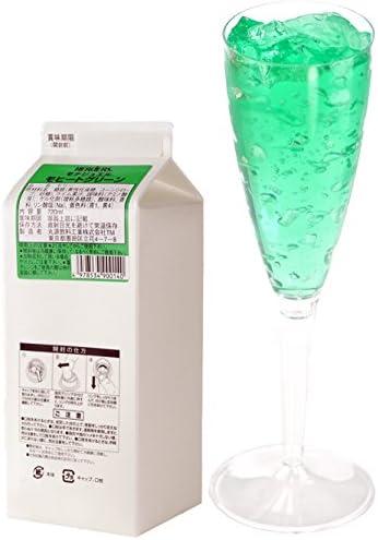 ハーダース モナジュエル モヒートグリーン L-AC 720ml×12本入 ゼリー飲料 ゼリー飲料まとめ買い 業務用 ゼリー宝石 キラキラ インスタ映え 洋酒 ゼリー ライム 果汁 モヒート ミント 緑