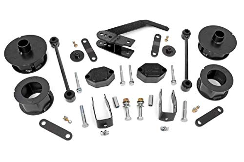 Rough Country 2.5″ Suspension Lift Kit for 07-18 Jeep Wrangler and Wrangler Unlimited JK – 635