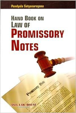 promissory note india