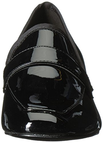 Synthetic Synthetic Women's West Black Black Loafer Unstressd Nine Flat Oa7qTq