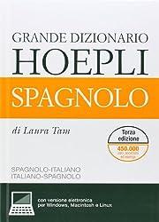 Grande Dizionario Hoepli Spagnolo + CD-ROM
