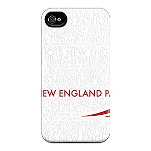 New Arrival Case Cover With GsPBUAL-450 Design For Iphone 4/4s- New England Patriots