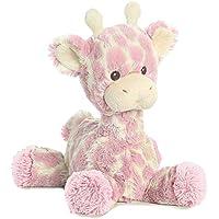 ebba Loppy Giraffe Plush (Pink Plush)