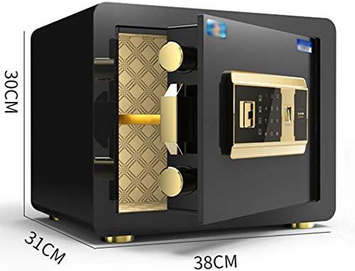 小さな家庭用25cm / 30cm / 45cm、指紋スチールパスワードオールスチール盗難防止および盗難防止金庫、ワードローブのように見えない壁の金庫