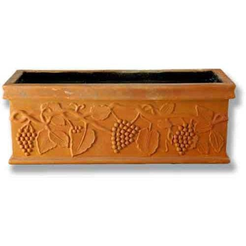 XoticBrands OSF60190 Vineyard Square Urn Garden Planter