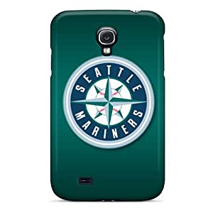 Samsung Galaxy S4 VzM16448FdPb Custom Trendy Seattle Mariners Series Excellent Cell-phone Hard Covers -PhilHolmes