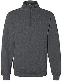 Men's Dri-Power Fleece Quarter-Zip Cadet Sweatshirt