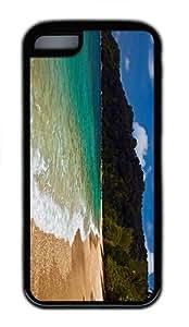 unique cover beach malaysia TPU Black Case for iphone 5C