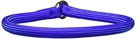 Coastal Pet Products Round Nylon Blue Choke Collar for Dogs, 3/8 By 16-inch - Nylon Chain
