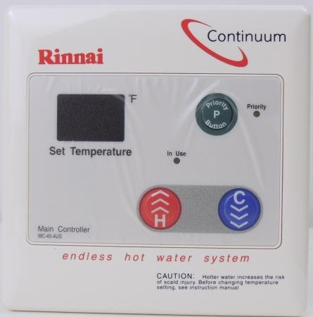 Rinnai Mc-45-4us Tankless Water Heater Digital Remote Control by MC-45-4US