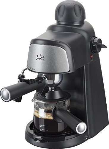 Jata CA704 Cafetera por hidropresión. Para 2-4 cafés expresso. 3,5 bar 4 posiciones. Filtro de acero inoxidable. Con…