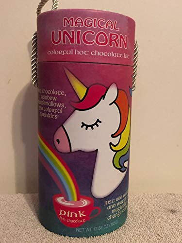 Magical Unicorn Colorful Hot Chocolate Kit- Pink Hot Chocolate