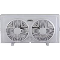 Optimus 7 Twin Window Fan FNOP5280, No Tools Required for Installation, Durable, Easy to Carry and Safe for Children