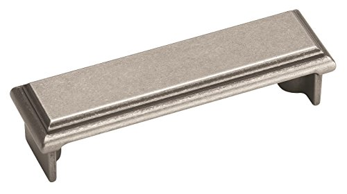 (Amerock BP26130-WN Manor Cup Pull 3-Inch Center, Weathered)