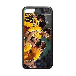 KKDTT Five major European Football League Hight Quality Protective Case for Iphone 5c