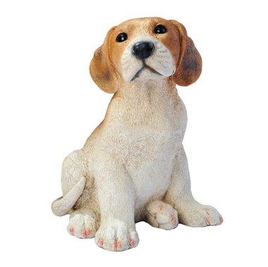 Shilo The Beagle Statue Home Garden Sculpture Dog Puppy (The Digital Angel)