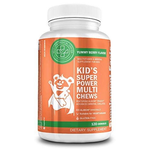 Kid's Super Power Multi Chews - Yummy Berry | Nutritional Supplement for Height-Enhancing Growth | Grow Taller | Best Life Medical Center (Best Vitamins For Height Growth)