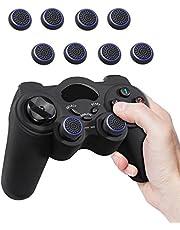 Fosmon (8-pack) Silicone Thumb Grip Controller Analoog Stick Joystick kap doppen Dualshock Thumbsticks compatibel met PlayStation PS4, PS3, Xbox One, Xbox 360, Nintendo WII Nunchuck & WII U