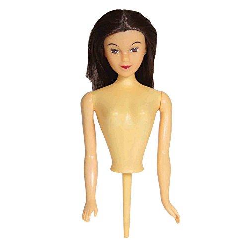PME Brunette Doll Pick, for Cake Decorating, Standard