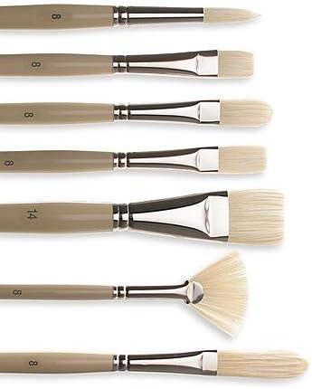 Robert Simmons Signet Brushes 6 flat 40F