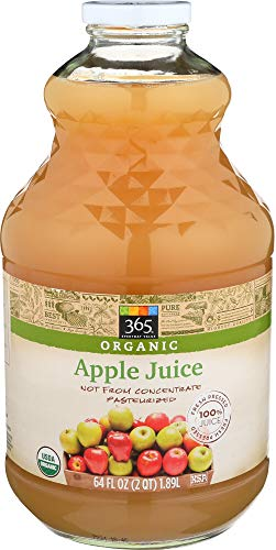 - 365 Everyday Value, Organic Juice Not from Concentrate - Pasteurized, Apple, 64 fl oz
