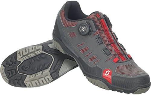 Zapatillas MTB Scott Crus-R Boa Antracita-Rojo Talla 42