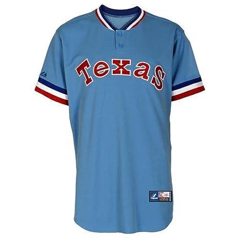online store 792c1 5b2ad Amazon.com: Nolan Ryan Texas Rangers #34 Majestic ...