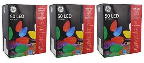 50 Ct Multi Color Led C9 Christmas Lights in US - 1