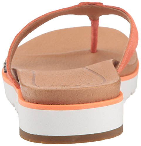 Ugg Womens Lorrie Flip Flop Fusion Coral