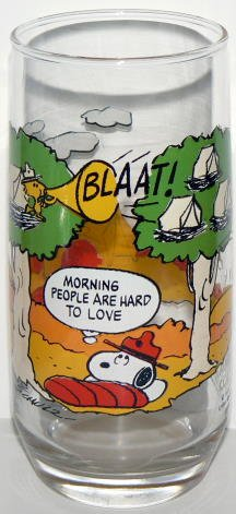 68228694c3 Image Unavailable. Image not available for. Color  Camp SNOOPY Collection ~  McDonald s Glass