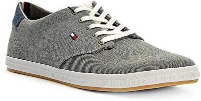 Tommy Hilfiger Howell - Light Grey (Textile) Mens Trainers